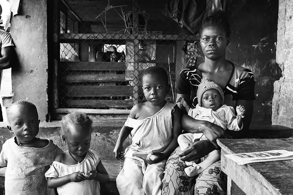 Sierra Leone mother and family