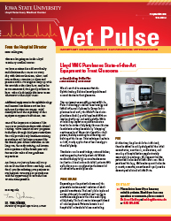 ISU Vet Pulse Fall/Winter 2016 Cover