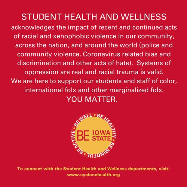 student health and wellness graphic