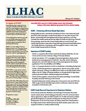 ILHAC Newsletter February 2016
