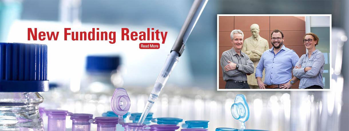 3D Health Solutions and research team - New Funding Reality story