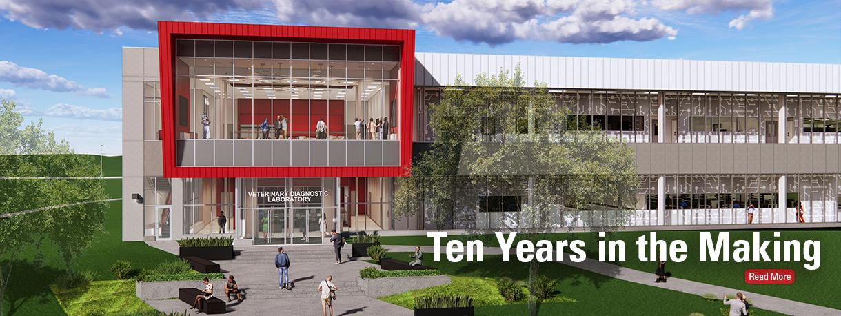 Conceptual rendering of new VDL building