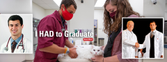 Veterinary Student Dominic Gentile Graduation Story