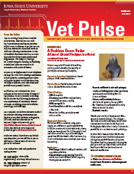 ISU Vet Pulse March 2015 Cover